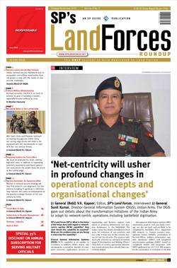 SP's Land Forces ISSUE No 05-12