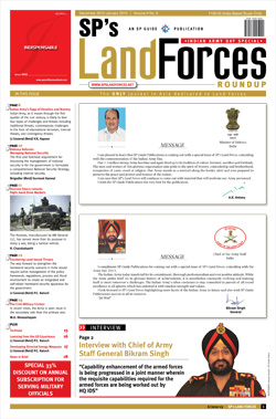 SP's Land Forces ISSUE No 06-12