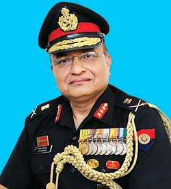Lt General V.K. Saxena, Director General of Army Air Defence, Indian Army
